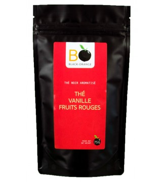 Thé Vanille Fruits rouges en sachet