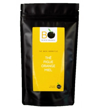 Thé figue orange miel en sachet