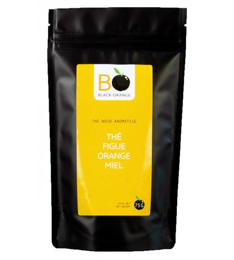 Thé figue orange miel en sachet