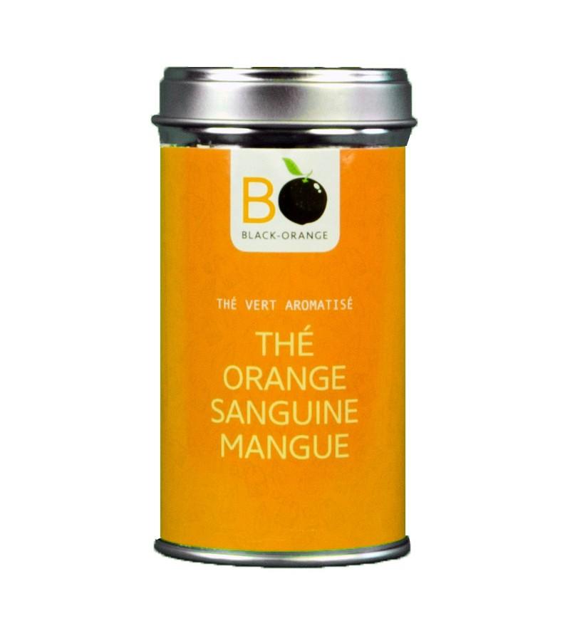 Thé vert orange sanguine mangue