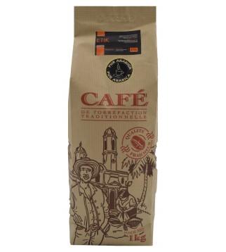 Café grains - coeur de fève