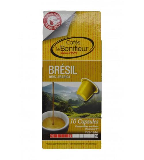 Capsules compatibles NESPRESSO (Brésil)