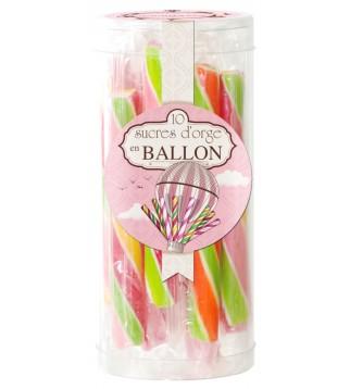 10 sucres d'orges en ballon