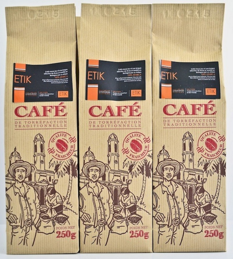 Café craft moulu