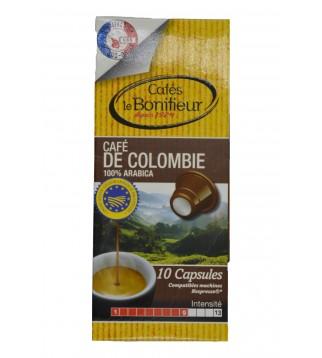 Capsules compatibles NESPRESSO (Colombie)